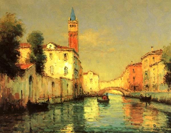 On A Venetian Canal